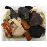 LEATHER GUNS HOLSTERS