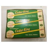 NOS CEDAR KING DISPLAY W/PRODUCT