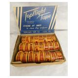 NOS TOPFLIGHT TAP DISPLAY W/PRODUCT