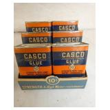 NOS CASCO GLUE DISPLAY W/PRODUCT
