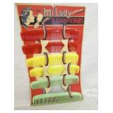 NOS MILADY COMB DISPLAY W/PRODUCT