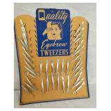 NOS QUALITY TWEEZERS DISPLAY