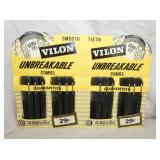 NOS VILON COMBS DISPLAY W/PRODUCT
