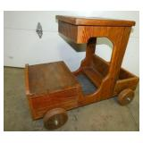 4FT. WOODEN HANDMADE CAR