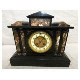 MARBLE CASE MANTEL CLOCK