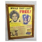 SHIRLEY TEMPLE ADV. AD