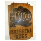 VIEW 2 ORIENTAL RUGS SIGN