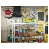ADV. CLOCKS/NOS TOBACCO ITEMS-SATURDAY