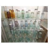 COLLECTION EARLY EMB. FRUIT JARS