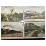 VIE W 4 W/ TRAINS, BOATS, SHIPS, AUTOMOBILES W 4