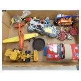 TIN LITHO TOYS & OTHER