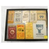 COLLECTION TOBACCO WAREHOUSE BOOKS,ETC