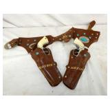 MARVERICK HOLSTERS W/ PISTOLS