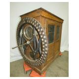 VIEW 3 50X116 OAK TIME CLOCK