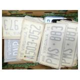 VARIOUS SETS VA LIC. TAGS