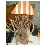 VIEW 2 MTN. LAUREL WOOD LAMP