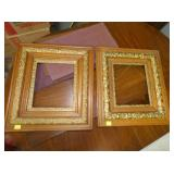 MATCHING GOLD GUILDED FRAMES