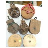 SEVERAL PRIM. PULLEYS