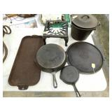 EARLY GRISWOLD CAST IRON