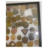 VARIOUS WATCH FOBS COLLECTION