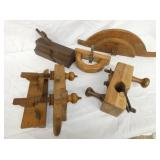 VARIOUS WOODEN WOOD PLANES