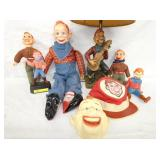 VIEW 2 HOWDY DOODY ITEMS