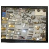 STERLING MILITARY PINS,BARS,OTHERS