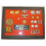 STERLING MILITARY STARS,PINS