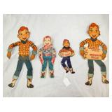 7-13IN HOWDY DOODY DOLLS AND OTHERS ITEMS