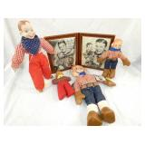 HOWDY DOODY DOLLS AND PICTURE