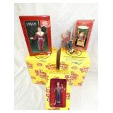 HOWDY DOODY ORNAMENTS W/ BOXES