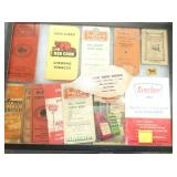 COLLECTION TOBACCO AND GAS OIL BOOKS