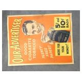 11X14 OUR ADVERTISERS CARDBOARD