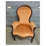 WALNUT VICT. PARLOR CHAIR