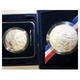 US MINT JAMESTOWN 400TH ANN. COMM. COINS