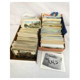 VARIOUS EARLY POSTCARDS