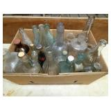 EARLY BOTTLES AND JARS