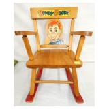 CHILDS HOWDY DOODY MUSICAL CHAIR
