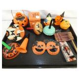 VARIOUS EARLY HALLOWEEN NOISE MAKERS