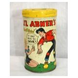 1953 LIL ABNERS TIN