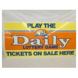 24X48 DAILY LOTTERY SIGN