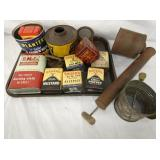 FORD MOTOR CO. ADV. ITEMS, TINS