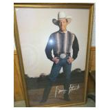 6FT. LIFE SIZE GEORGE STRAIGHT POSTER
