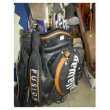 SEV. GOLF CLUBS W/ BAGS