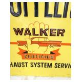 VIEW 2 WALKER MUFFLER SIGN W/CAR