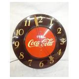 18IN COCA COLA CLOCK