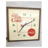 16IN COCA COLA CLOCK