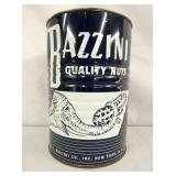 BAZZINI NUT TIN W/ ELEPHANT