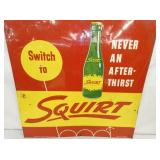 VIEW 2 1956 EMB. SQUIRT SIGN