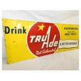 VIEW 2 CLOSEUP TRU ADE SIGN